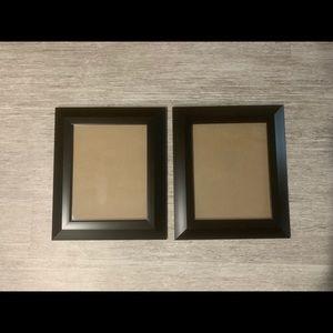 Other - Black photo frames